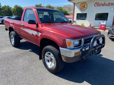 1992 Toyota Pickup for sale at Clarkston Auto Sales in Clarkston WA