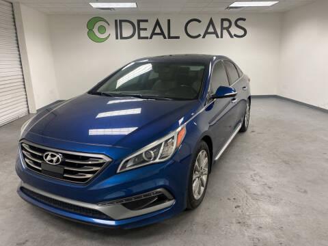 2017 Hyundai Sonata for sale at Ideal Cars in Mesa AZ