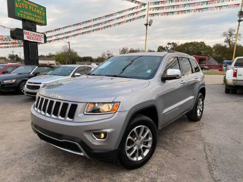 2014 Jeep Grand Cherokee for sale at Pasadena Auto Planet in Houston TX