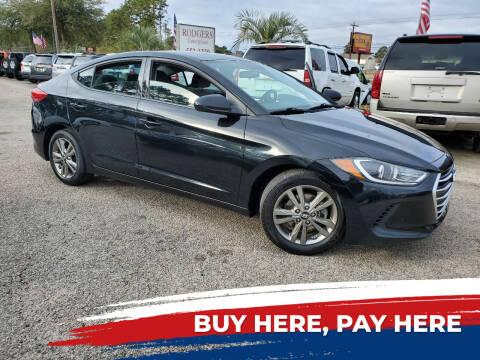 2017 Hyundai Elantra for sale at Rodgers Enterprises in North Charleston SC