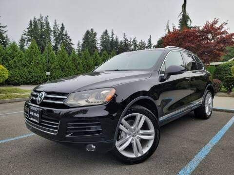 2012 Volkswagen Touareg for sale at Silver Star Auto in Lynnwood WA