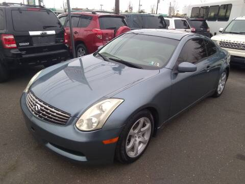 2007 Infiniti G35 for sale at Wilson Investments LLC in Ewing NJ
