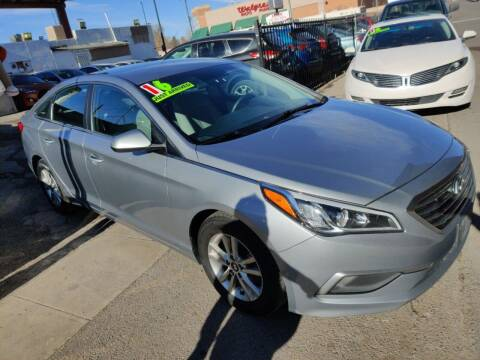 2016 Hyundai Sonata for sale at Sanaa Auto Sales LLC in Denver CO
