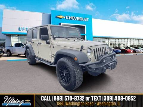 2017 Jeep Wrangler Unlimited for sale at Gary Uftring's Used Car Outlet in Washington IL