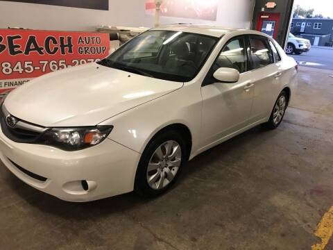 2010 Subaru Impreza for sale at BEACH AUTO GROUP INC in Fishkill NY