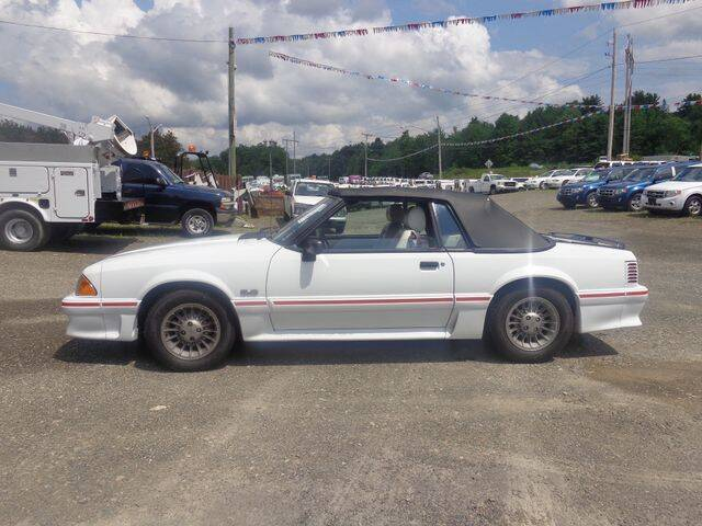 1988 Ford Mustang for sale at Upstate Auto Sales Inc. in Pittstown NY