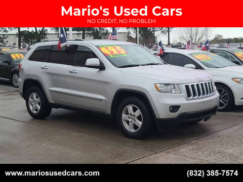 2011 Jeep Grand Cherokee for sale at Mario's Used Cars in Houston TX