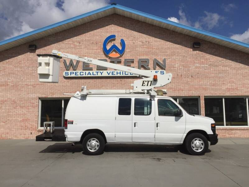 2008 Ford E350 Bucket Van for sale at Western Specialty Vehicle Sales in Braidwood IL
