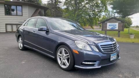 2013 Mercedes-Benz E-Class for sale at Shores Auto in Lakeland Shores MN