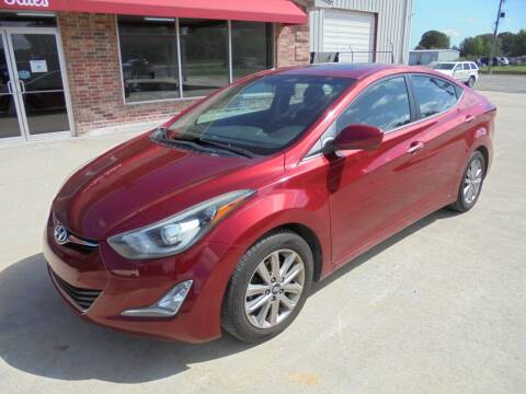 2015 Hyundai Elantra for sale at US PAWN AND LOAN in Austin AR