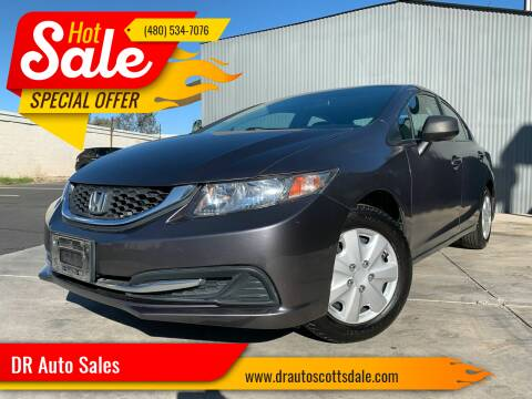 2014 Honda Civic for sale at DR Auto Sales in Scottsdale AZ