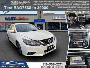 2018 Nissan Altima for sale at Best Auto Outlet in Floral Park NY