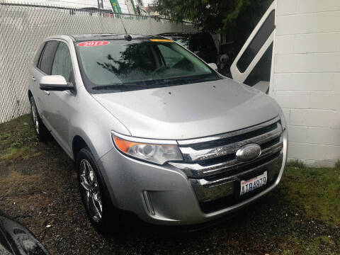 2012 Ford Edge for sale at Car Craft Auto Sales Inc in Lynnwood WA