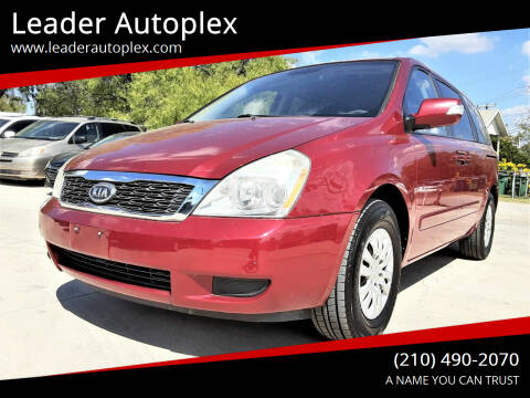 2012 Kia Sedona for sale at Leader Autoplex in San Antonio TX