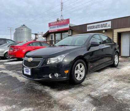 2014 Chevrolet Cruze for sale at WINDOM AUTO OUTLET LLC in Windom MN