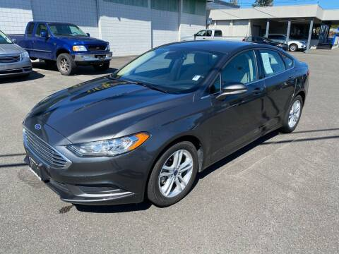2018 Ford Fusion for sale at Vista Auto Sales in Lakewood WA