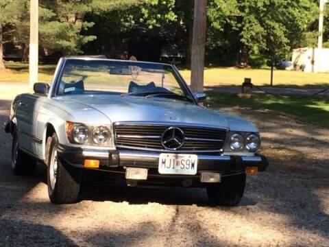 1974 Mercedes-Benz 450 SL for sale at Classic Car Deals in Cadillac MI