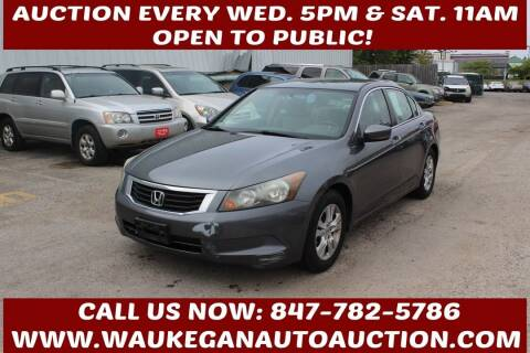 2009 Honda Accord for sale at Waukegan Auto Auction in Waukegan IL