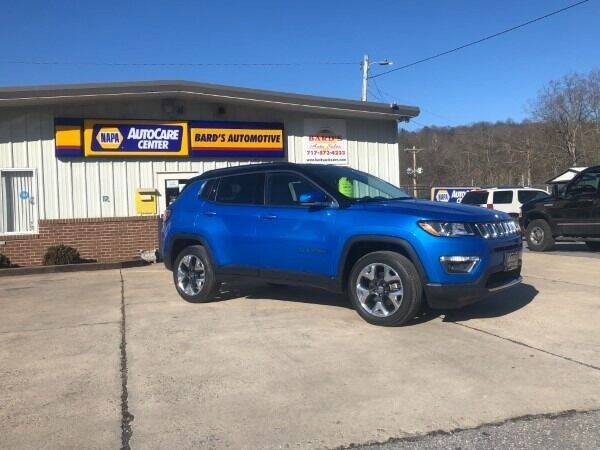 2018 Jeep Compass for sale at BARD'S AUTO SALES in Needmore PA