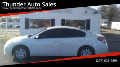 2012 Nissan Altima for sale at Thunder Auto Sales in Springfield IL