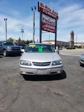 2003 Chevrolet Impala for sale at Bi-Rite Auto Sales in Clinton Township MI