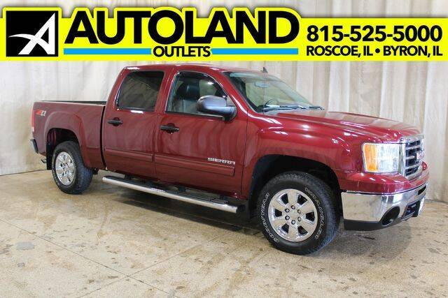 2013 GMC Sierra 1500 for sale at AutoLand Outlets Inc in Roscoe IL