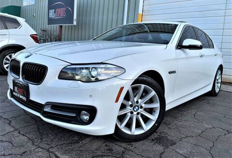 2015 BMW 5 Series for sale at Haus of Imports in Lemont IL