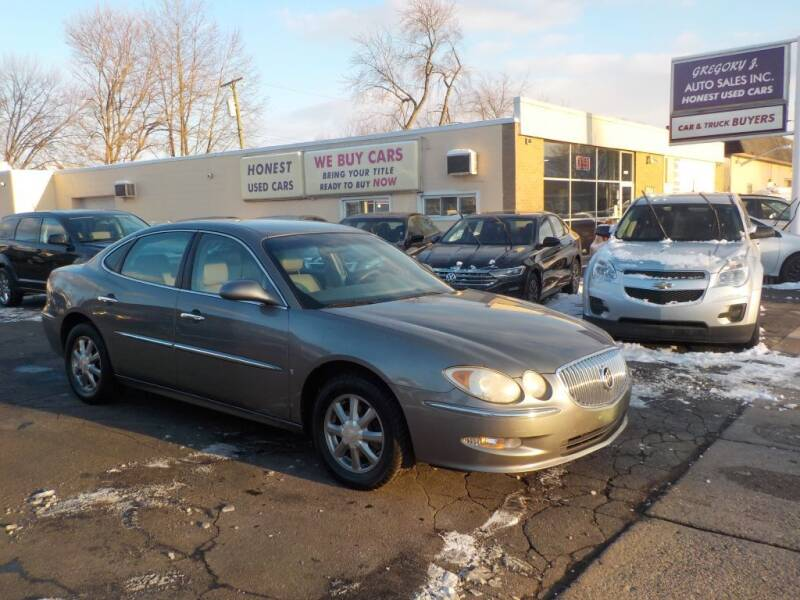 2008 Buick LaCrosse for sale at Gregory J Auto Sales in Roseville MI