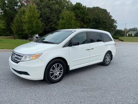 2012 Honda Odyssey for sale at GTO United Auto Sales LLC in Lawrenceville GA