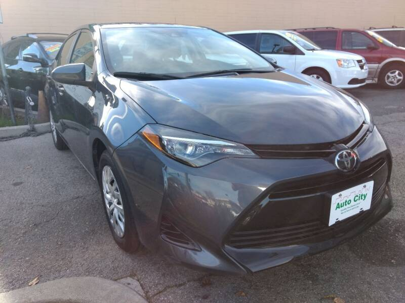 2017 Toyota Corolla for sale at Auto City in Redwood City CA