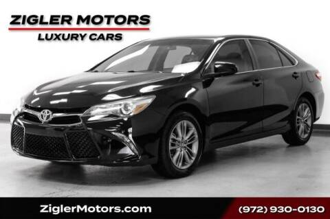 2017 Toyota Camry for sale at Zigler Motors in Addison TX