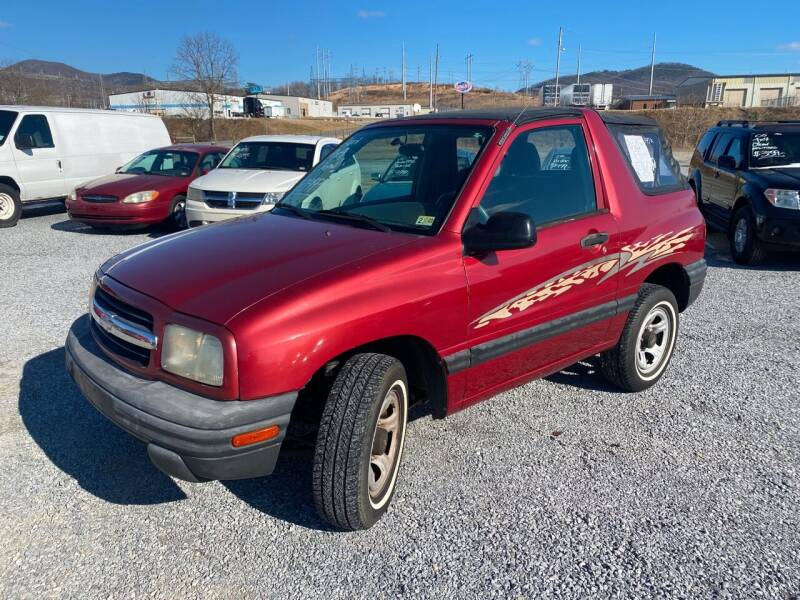 2001 Chevrolet Tracker for sale at Bailey's Auto Sales in Cloverdale VA