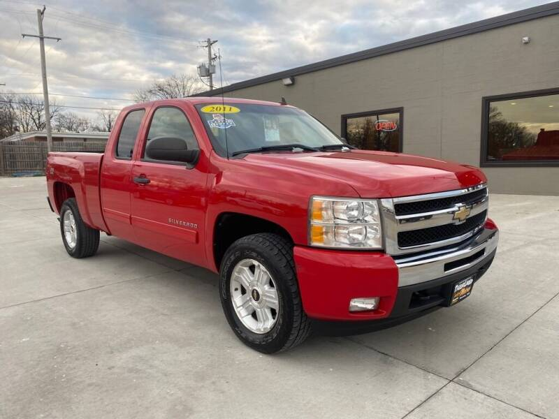 2011 Chevrolet Silverado 1500 for sale at Tigerland Motors in Sedalia MO
