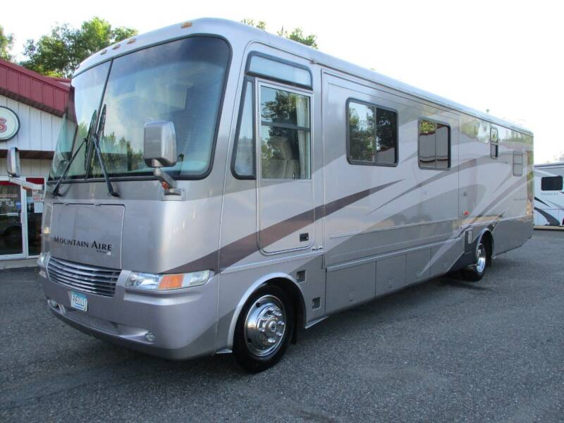 2003 Newmar Mountain Aire Class A 3778 for sale at Midstate Sales in Foley MN