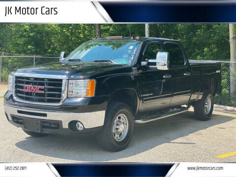 2009 GMC Sierra 2500HD for sale at JK Motor Cars in Pittsburgh PA