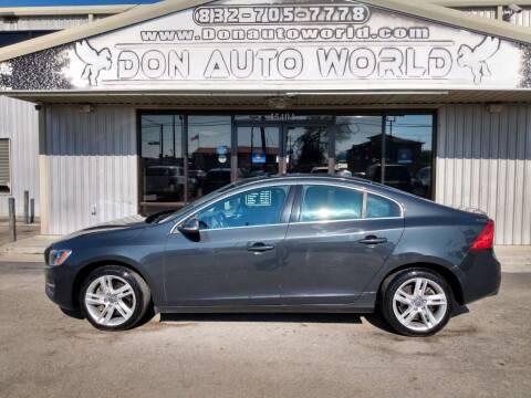2014 Volvo S60 for sale at Don Auto World in Houston TX