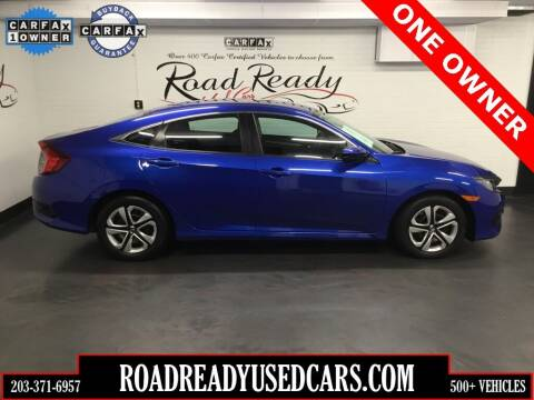 2017 Honda Civic for sale at Road Ready Used Cars in Ansonia CT