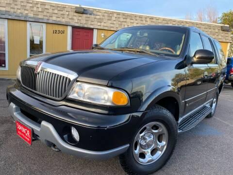 2000 Lincoln Navigator for sale at Superior Auto Sales, LLC in Wheat Ridge CO