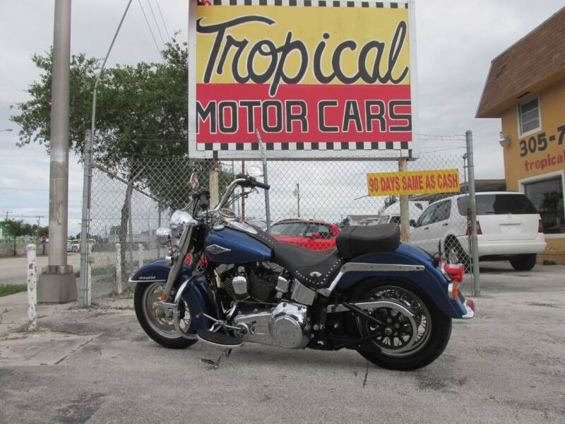 2015 Harley-Davidson Heritage Softail Classic for sale at TROPICAL MOTOR CARS INC in Miami FL