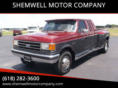1989 Ford F-350 for sale at SHEMWELL MOTOR COMPANY in Red Bud IL