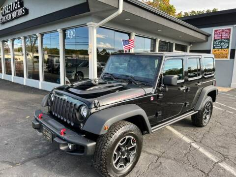 2015 Jeep Wrangler Unlimited for sale at Prestige Pre - Owned Motors in New Windsor NY