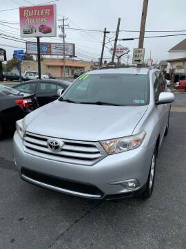 2011 Toyota Highlander for sale at Butler Auto in Easton PA