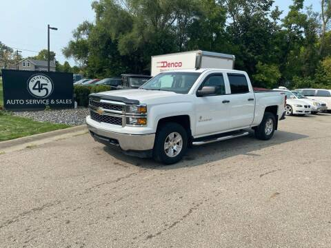 2014 Chevrolet Silverado 1500 for sale at Station 45 Auto Sales Inc in Allendale MI
