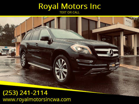 2013 Mercedes-Benz GL-Class for sale at Royal Motors Inc in Kent WA