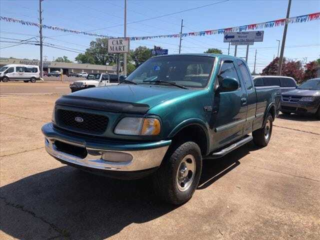 1997 Ford F-150 for sale at Herman Jenkins Used Cars in Union City TN
