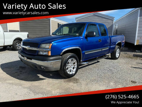 2003 Chevrolet Silverado 1500 for sale at Variety Auto Sales in Abingdon VA