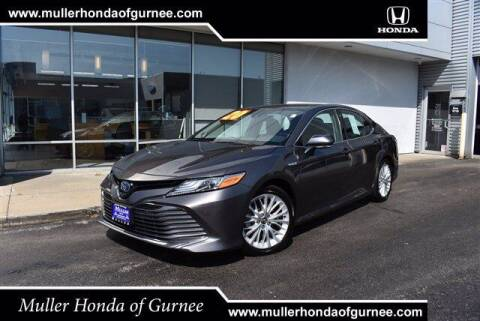 2020 Toyota Camry Hybrid for sale at RDM CAR BUYING EXPERIENCE in Gurnee IL