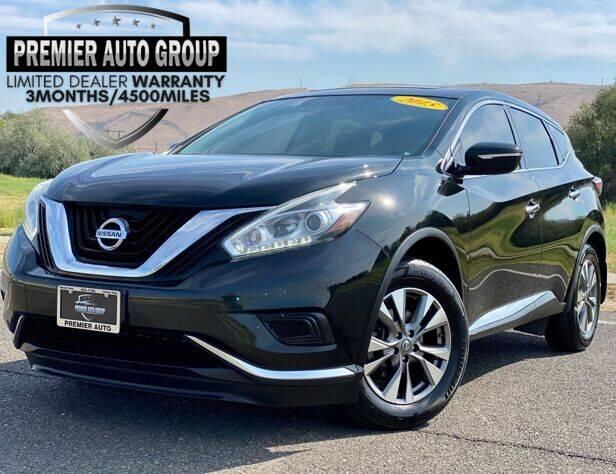 2015 Nissan Murano for sale at Premier Auto Group in Union Gap WA
