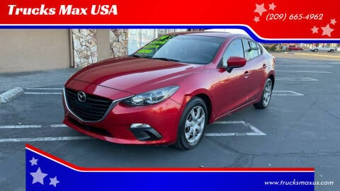2014 Mazda MAZDA3 for sale at Trucks Max USA in Manteca CA