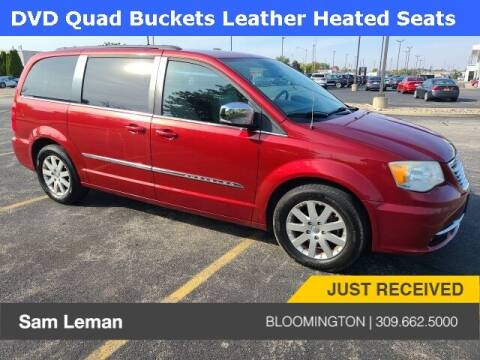 2011 Chrysler Town and Country for sale at Sam Leman Mazda in Bloomington IL